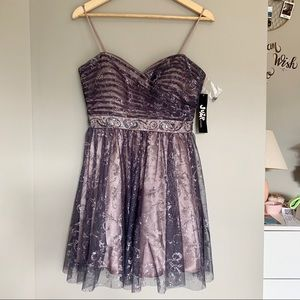 {NWT}Jump | Purple Sparkly Homecoming Dress